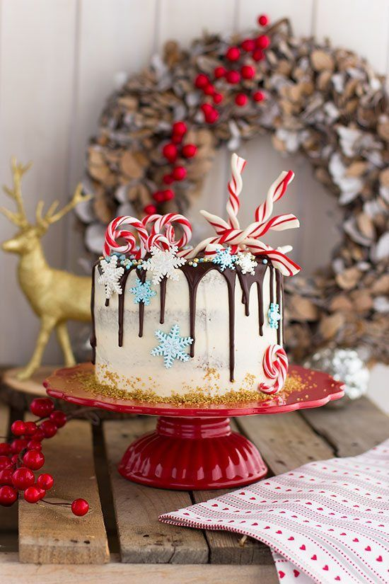 Christmas Cake Pastel De Navidad Tartas Navideñas Galletas De Caramelo