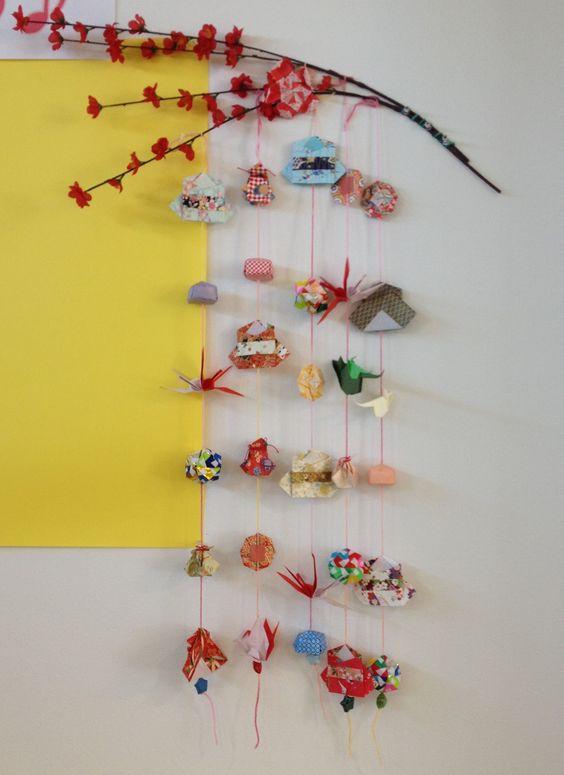 ハート 折り紙 つるし雛 折り紙 : jp.pinterest.com