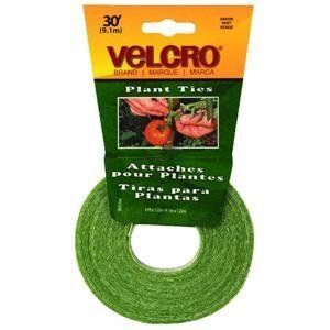 Velcro plant tie tape. Also great for cable organization around the house and office. Reusable.
