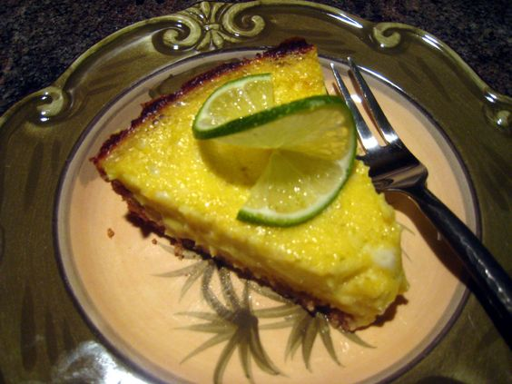 Paleo Key Lime Pie by @stevepaleo