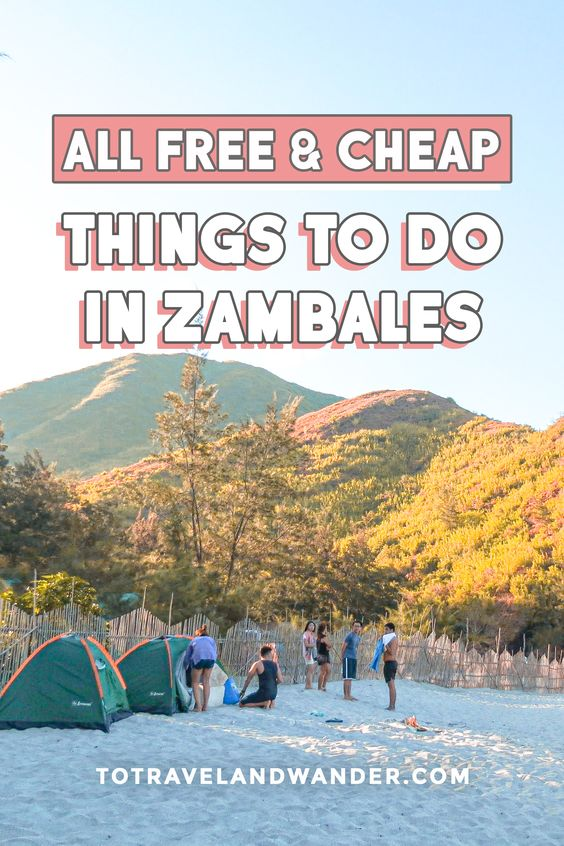 FREE and CHEAP Things To Do in Zambales Philippines