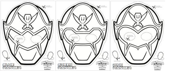 Power Rangers Power Rangers Mask And Ranger On Pinterest Power Rangers Mask Coloring Pages