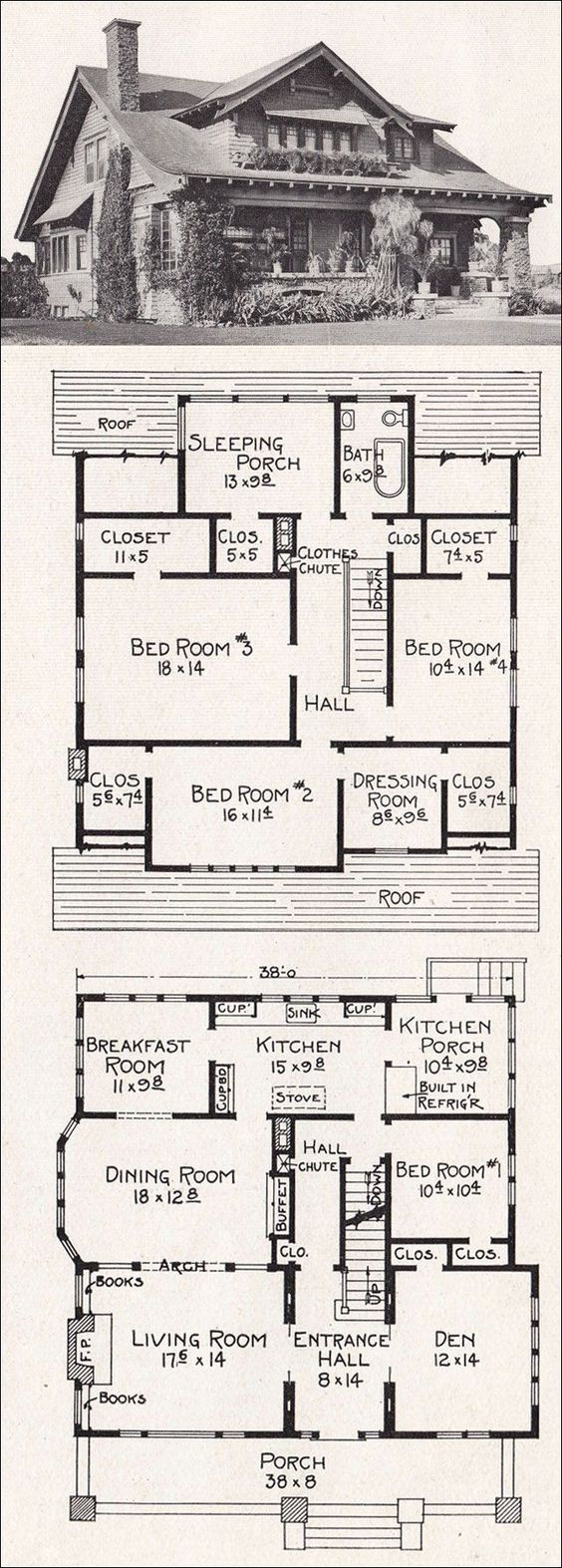 Vintage house plan that can easily be conformed to our modern day    Vintage house plan that can easily be conformed to our modern day life style  I