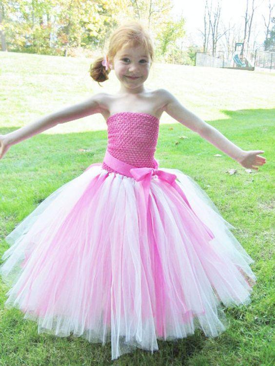 Flower Girl Princess Tutu Dress Sizes 4 to by KayleysTreasureChest, $65.00
