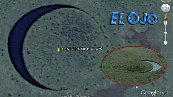 El Ojo, Extraña Estructura Descubierta en una Isla Misteriosa