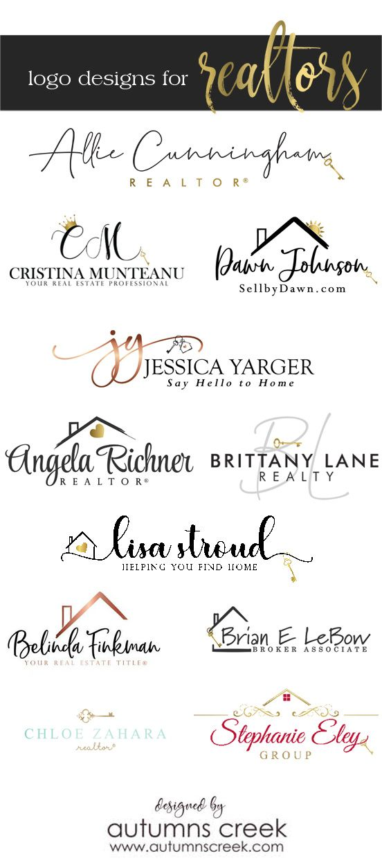 Premade Logos Real Estate Agents