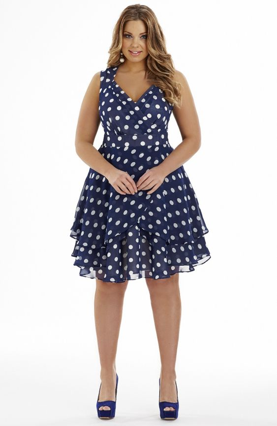 midnight blue clothing and plus size dresses on