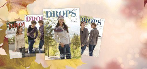 DROPS Design ~ Gratismuster