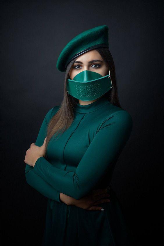 Leder Gesichtsmaske Gesichtsmaske Maske Bdsm Maske | Etsy