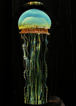 glass jellyfish