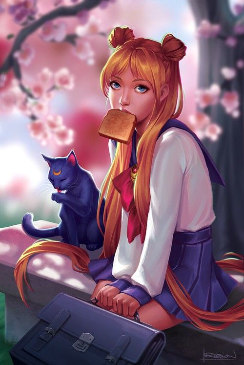Imagem de sailor moon and anime