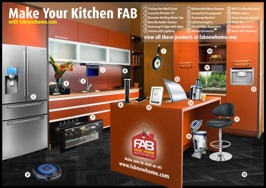 A fantastic interactive infographic on the newest kitchen gadgets!