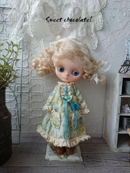 カスタムミディブライス「ホワイトブルーの妖精」ナチュラル_画像2