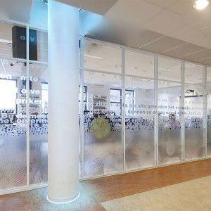 Print op glas - sign - Glasfolie Meerwaarde