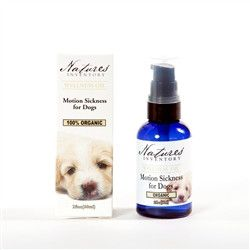 The essential oils of ginger and peppermint absorb into the bloodstream quickly to work on a physical and emotional level to settle both the stomach and the mind. Not recommended for cats. Ingredients