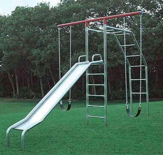 swings metal swing sets kids swingset playsets
