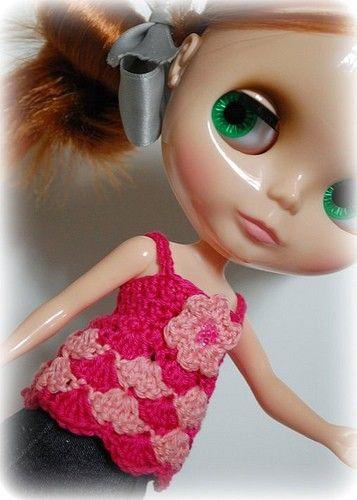 Blythe crochet top