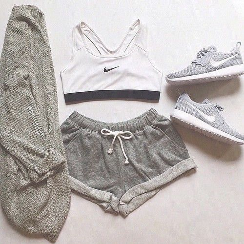 nike, outfit, and sport Bild