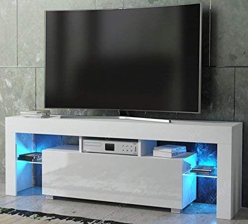 furniture tv 130cm unit cabinet stand