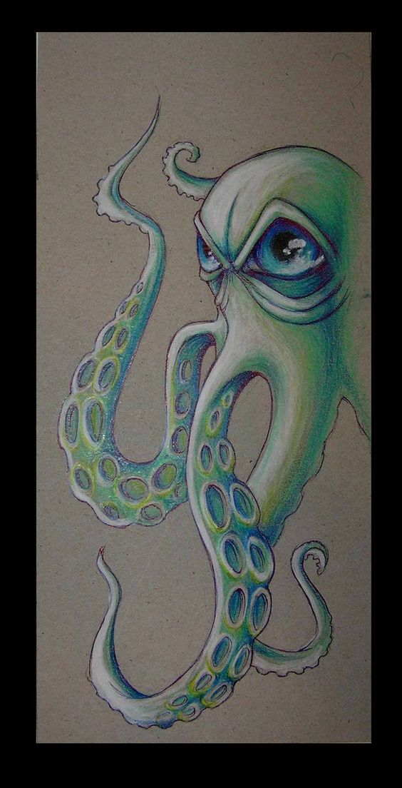 Octopus by ~anniecarter on deviantART