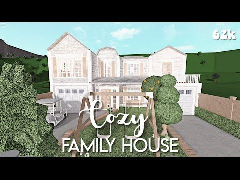 Cozy Family House Bloxburg Speedbuild Youtube In 2020 Two Story House Design Family House Beautiful House Plans