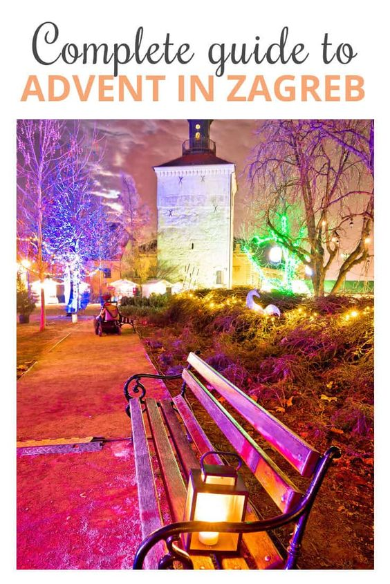 Christmas Zagreb Croatia Travel Croatia Travel Guide Croatia