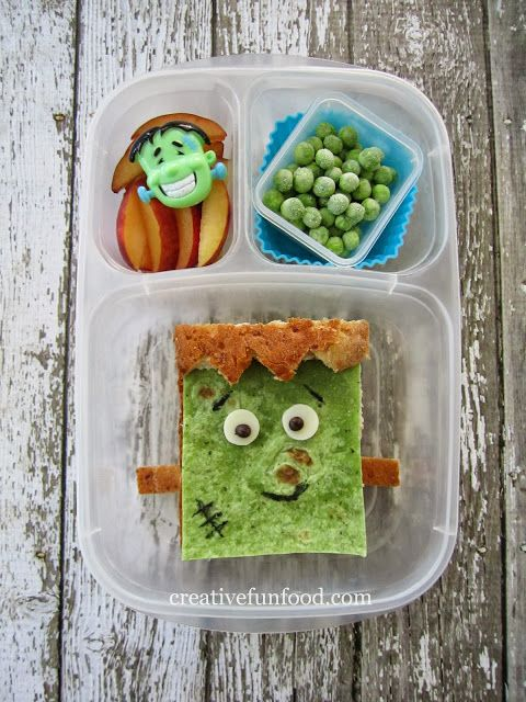 Creative Food: Happy Frankenstein Lunch