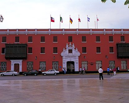 Trujillo is the birthplace of the liberation of Peru from Spain.