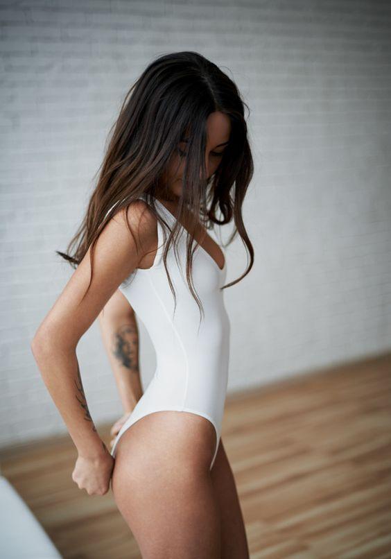 Photography, leotard, bodysuit, body, justaucorps, ballet, dance, white, Eugene Nadein