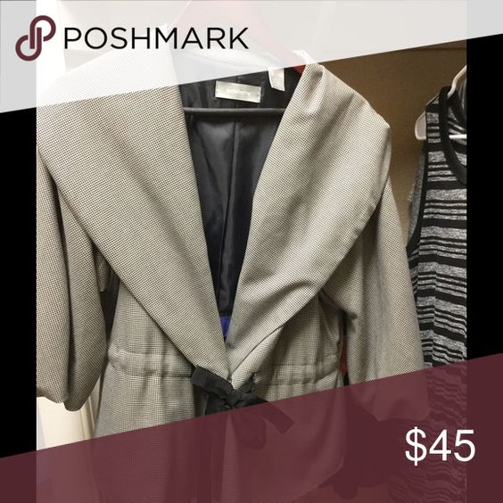 Liz Claiborne Jacket NWOT.  Purchased and never wore it.  Can be dresses up or down.  Beautiful piece to add to your wardrobe.  Price is firm. Liz Claiborne Jackets & Coats
