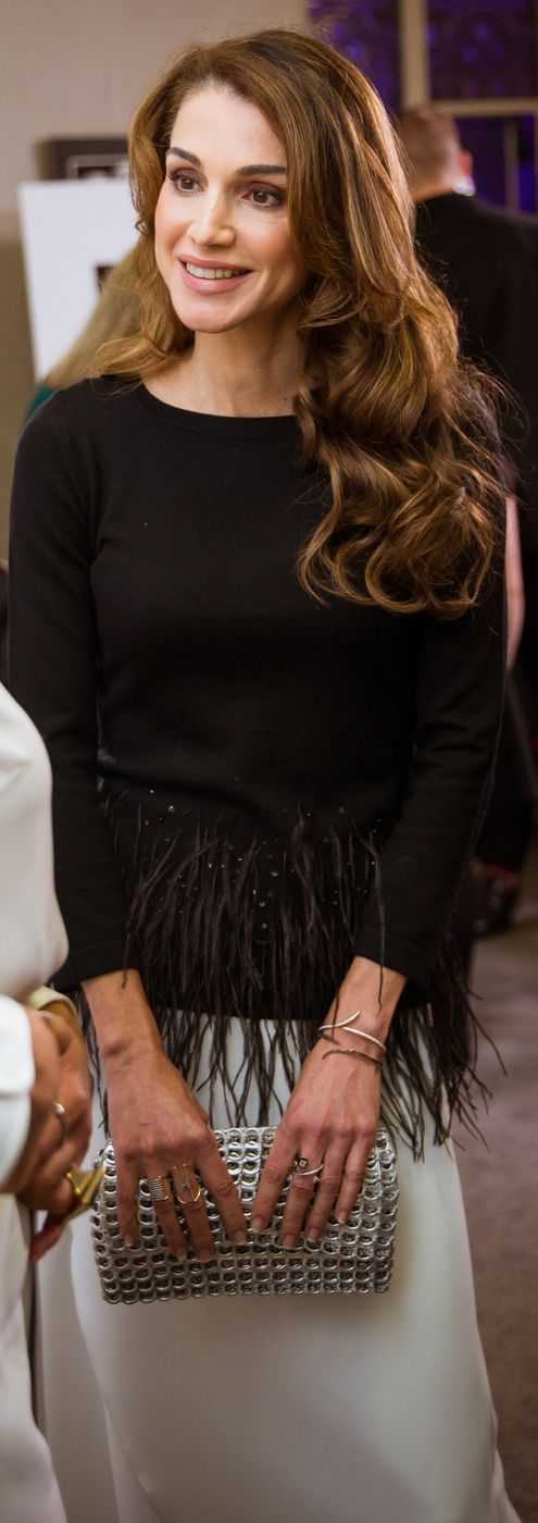 queen rania, oct 8, 2015, london