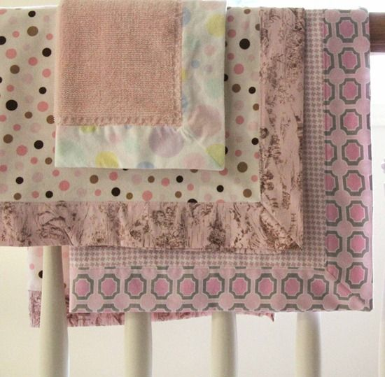 Self Binding Flannel Blankets With Simple Trick For Nice