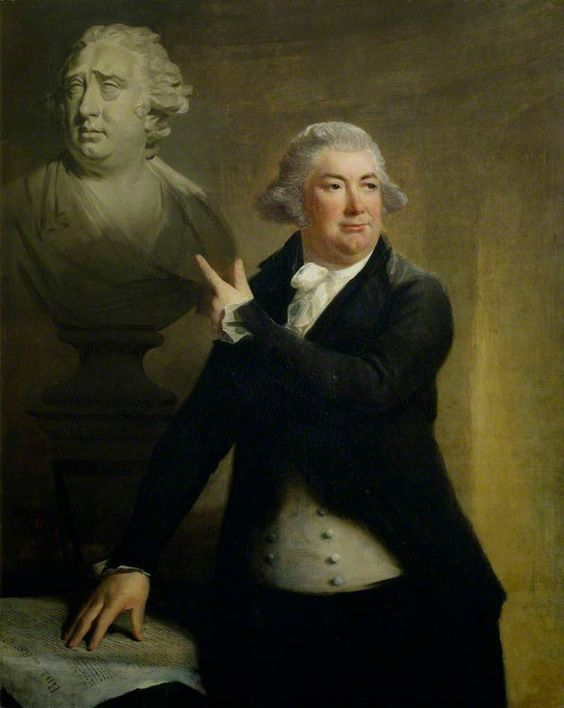 Portrait of Robert Cunninghame Graham of Gartmore (d.1797), Poet and Politician, 1794 attrib. to Sir Henry Raeburn (Scottish 1756-1823)