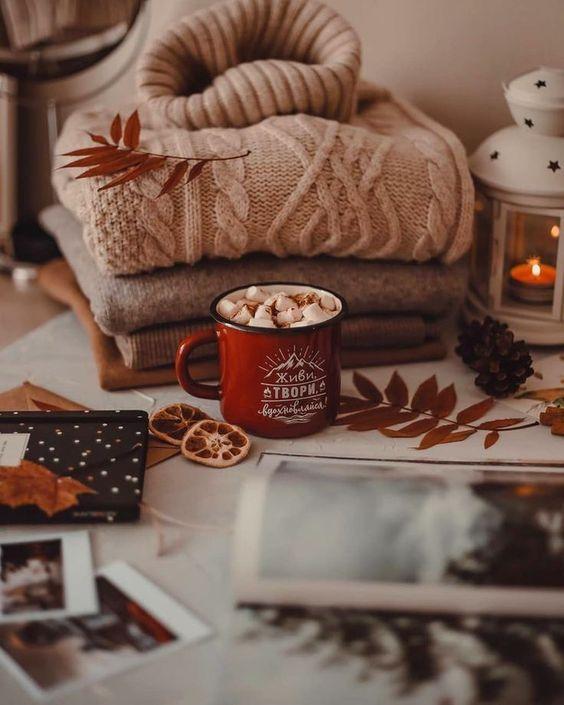 Cozy Snug At Home And Drink Hot Drinks S Izobrazheniyami