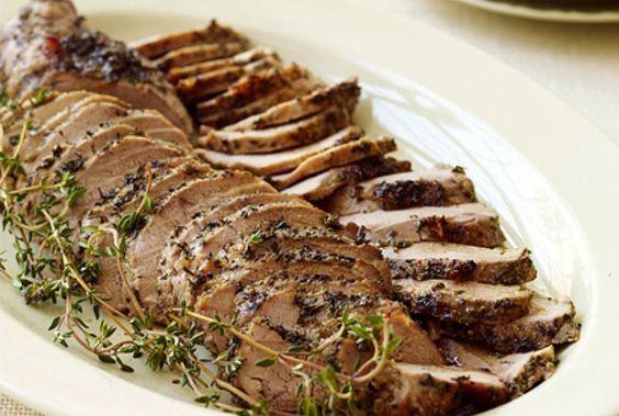 PointsPlus Roasted Pork Tenderloin Recipe