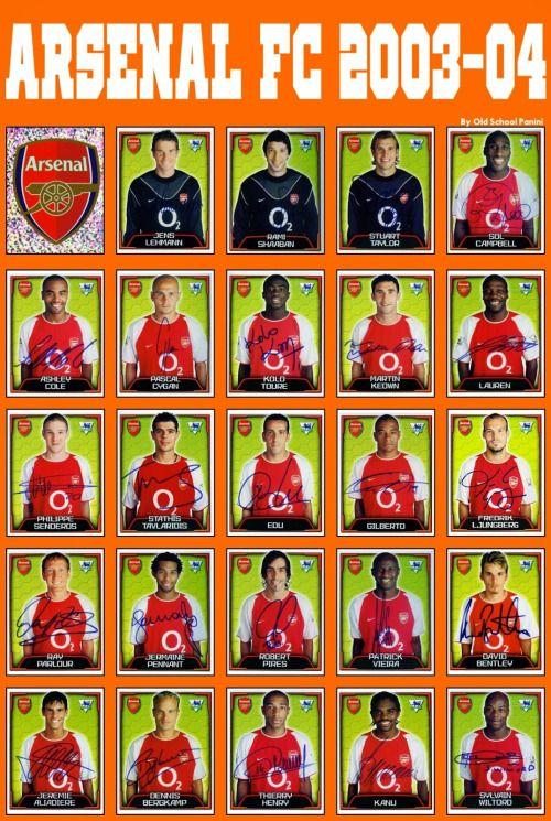 ARSENAL FC 2003-04