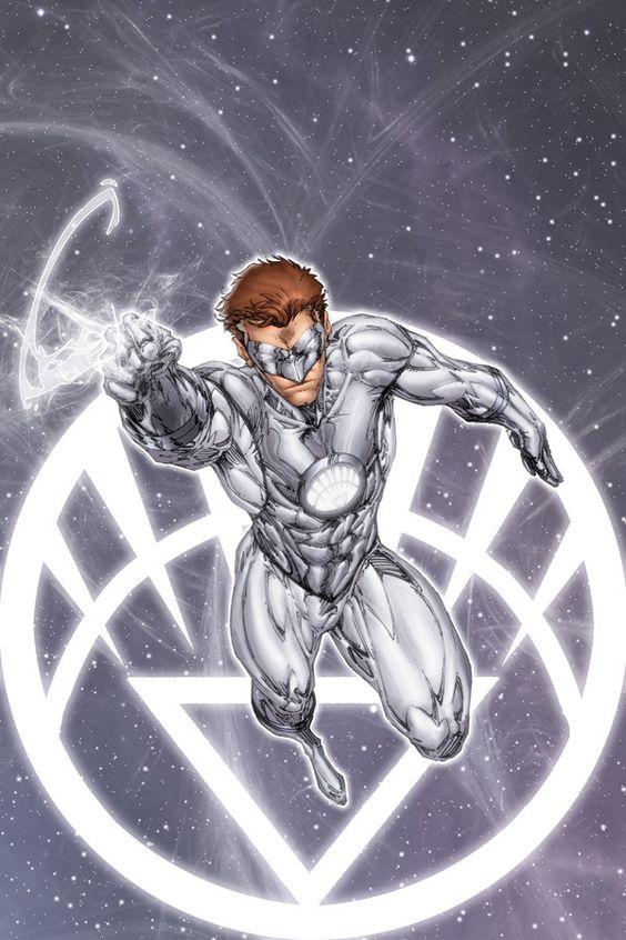 white lantern hal comics and drawings