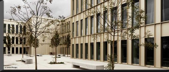 HEC, School of Management France by David Chipperfield - google zentrale irland