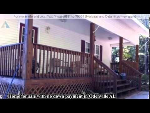 Home for sale with no down payment in Odenville AL - YouTube