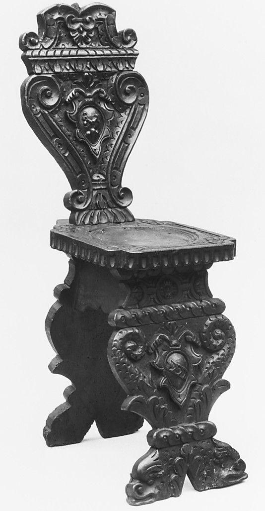 sgabello chair italian renaissance