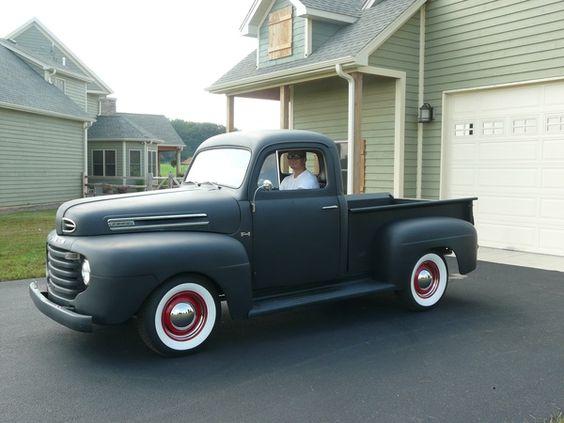 Our 1950 Ford Truck (flathead)...We call em Henry. http://media-cache1.pinterest.com/upload/132856257727518053_06fedjjA_f.jpg sophieandkumar old trucks