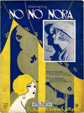 No No Nora, 1923 (ill.: J V R (monogram)); ref. 6064