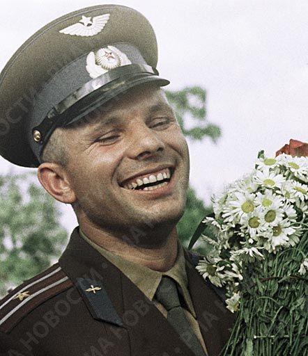 El piloto cosmonauta Yuri Gagarin
