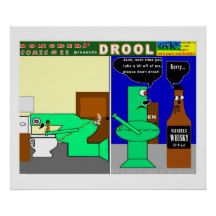DROOL POSTER