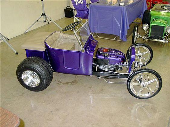 Sweet Mini T Bucket Convert From Lawn Tractor 6 Speed