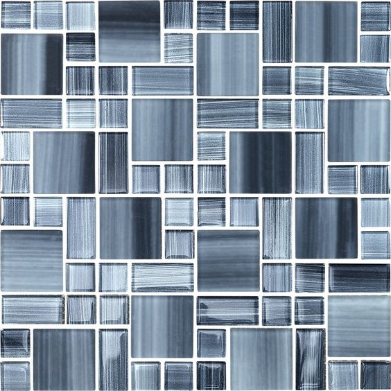 Tilephile Glass Mosaic Tiles Mosaic Glass Pattern Glass