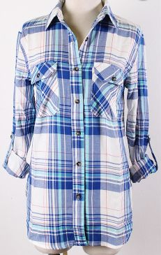 Blue Plaid [Arriving late October]