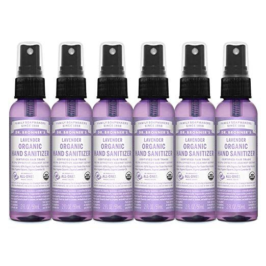 Amazon Com Customer Reviews Dr Bronner S Organic Lavender Hand