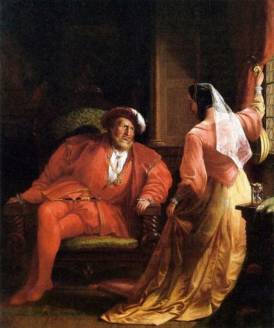 Henry VIII and Anne Boleyn by William Ripper