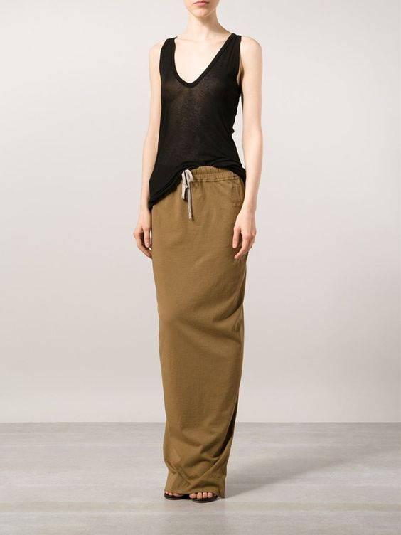 Rick Owens Lilies / V Neck Tank Top